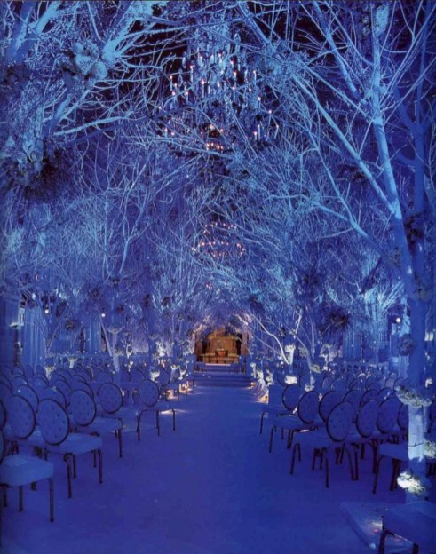 Spectacular winter wonderland wedding decoration ideas (10)