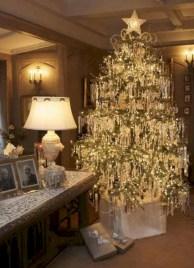 Stunning gold christmas tree decoration ideas 08