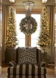 Stunning gold christmas tree decoration ideas 34