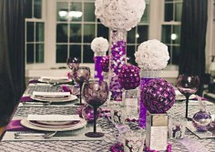 Stylish christmas centerpieces ideas with ornaments 10