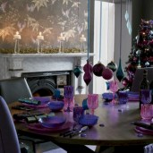 Stylish christmas centerpieces ideas with ornaments 12