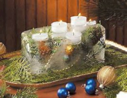 Stylish christmas centerpieces ideas with ornaments 29