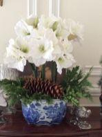 Totally adorable white christmas floral centerpieces ideas 15