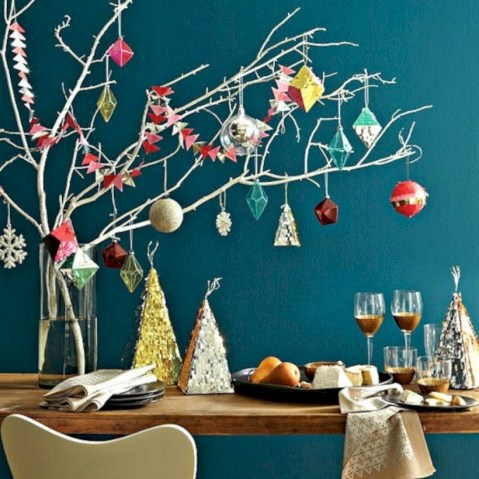 Unique christmas tree decoration ideas for your alternatives 25