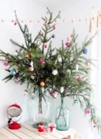 Unique christmas tree decoration ideas for your alternatives 29