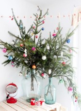 Unique christmas tree decoration ideas for your alternatives 29