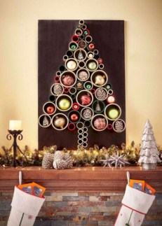 Unique christmas tree decoration ideas for your alternatives 32