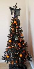 Unusual black christmas tree decoration ideas 08
