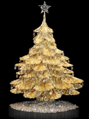 Unusual black christmas tree decoration ideas 13