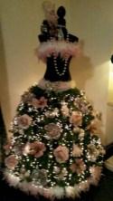 Unusual black christmas tree decoration ideas 17