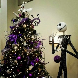 Unusual black christmas tree decoration ideas 18