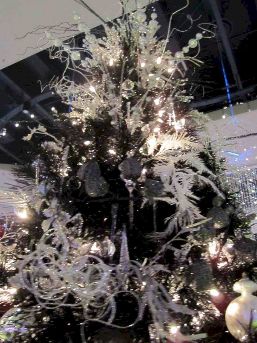 unusual black christmas tree decoration ideas 22 - How To Decorate My Black Christmas Tree