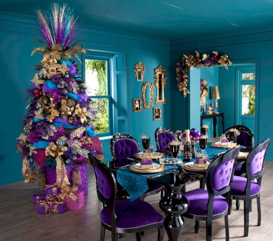 40 Unusual Black Christmas Tree Decoration Ideas