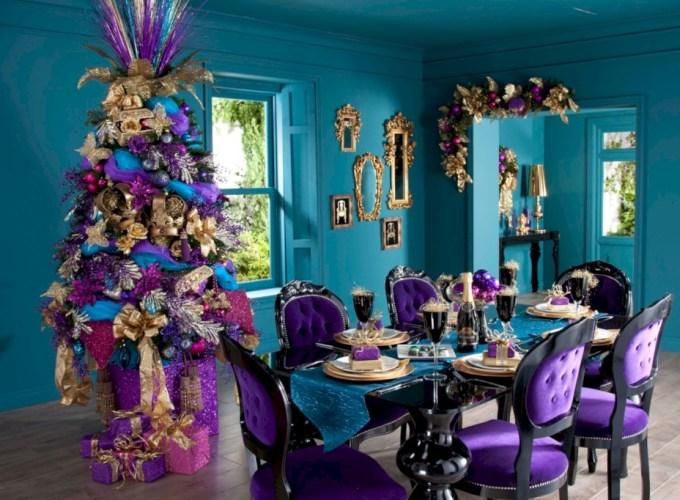 Unusual black christmas tree decoration ideas 28