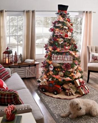 Unusual black christmas tree decoration ideas 35
