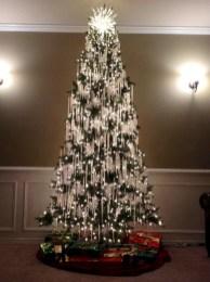Unusual black christmas tree decoration ideas 36