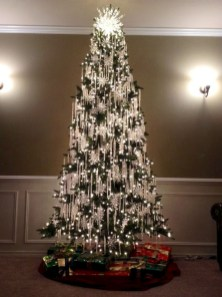 Unusual black christmas tree decoration ideas 36