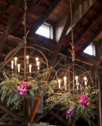 Adorable christmas chandelier decoration ideas 02