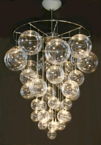 Adorable christmas chandelier decoration ideas 17