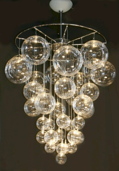Adorable christmas chandelier decoration ideas 17