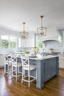 Adorable grey and white kitchens design ideas 09