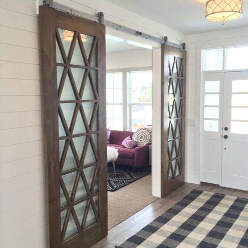 Awesome interior sliding doors design ideas for every home 31
