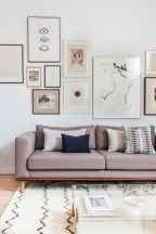 Awesome large wall art inspiration ideas for your living rooms 38