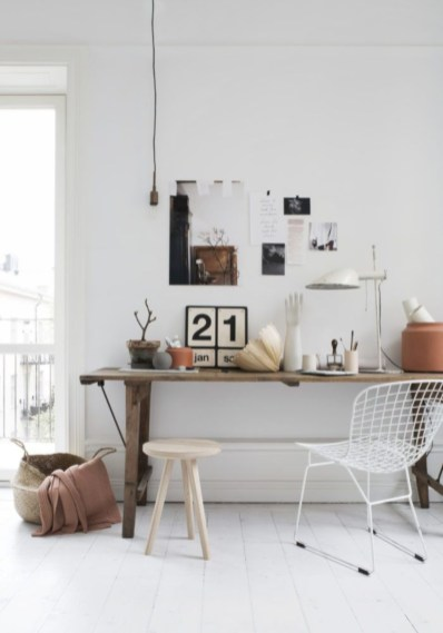 Awesome rustic home office designs ideas 25
