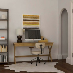 Awesome rustic home office designs ideas 30