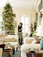 Beautiful and charming tabletop christmas trees decoration ideas 40