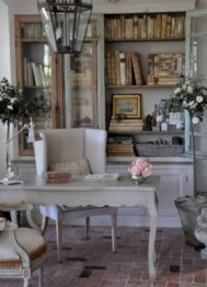 Charming vintage home office decoration ideas 03