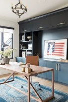 Charming vintage home office decoration ideas 22