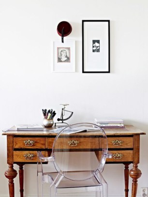 Charming vintage home office decoration ideas 27