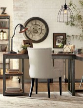 Charming vintage home office decoration ideas 31