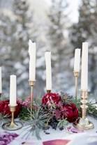 Charming winter centerpieces decoration ideas 20