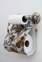 Cool and unique toilet tissue paper roll holders ideas 06