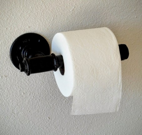 Cool and unique toilet tissue paper roll holders ideas 17