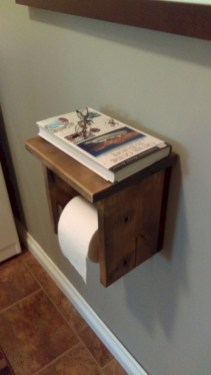 Cool and unique toilet tissue paper roll holders ideas 30