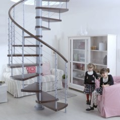 Cool space saving staircase designs ideas 02