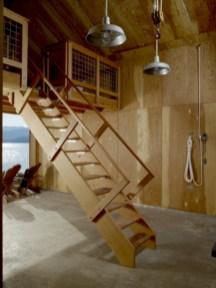 Cool space saving staircase designs ideas 05