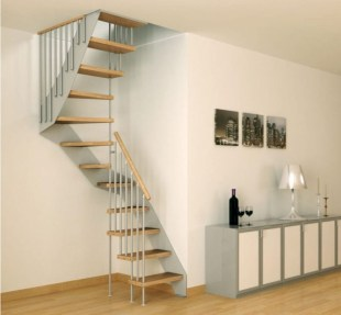 Cool space saving staircase designs ideas 07