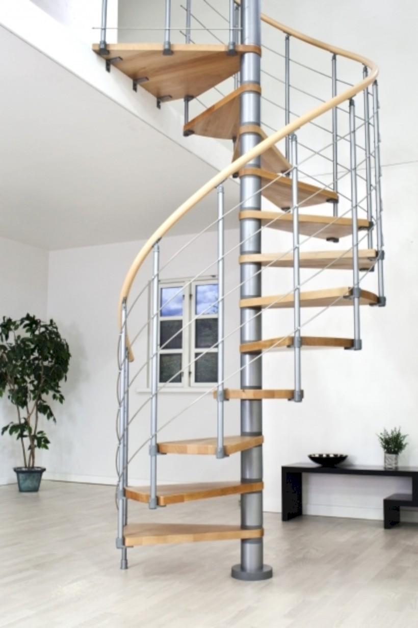 Cool Space Saving Staircase Designs Ideas 08