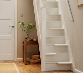 Cool space saving staircase designs ideas 11