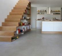 Cool space saving staircase designs ideas 13