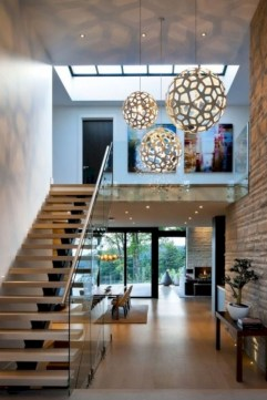 Cool space saving staircase designs ideas 17
