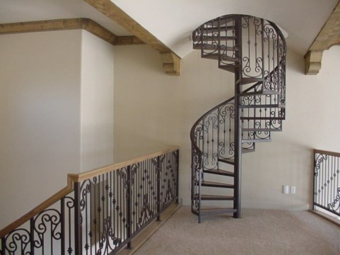 Cool space saving staircase designs ideas 18