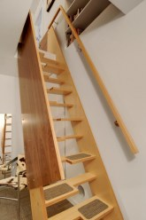 Cool space saving staircase designs ideas 22