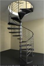 Cool space saving staircase designs ideas 27