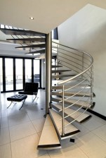 Cool space saving staircase designs ideas 28