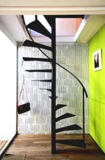 Cool space saving staircase designs ideas 30